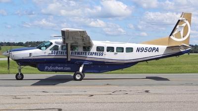 A picture of N950PA - Cessna 208B Grand Caravan - Sun Air Express - © Jacob Mathers