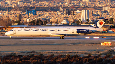 EP-CPV - McDonnell Douglas MD-83 - Caspian Airlines