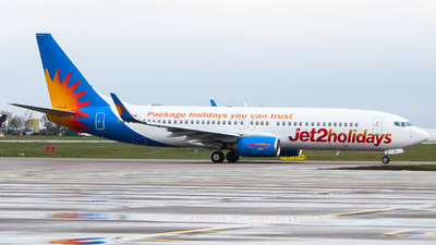 A picture of GJZHE - Boeing 7378K2 - Jet2 - © Jamie PD