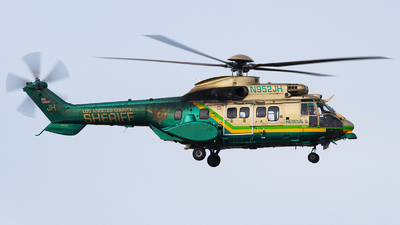 N952JH - Eurocopter AS 332L Super Puma - United States - Los Angeles County Sheriff