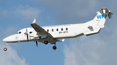 9H-AFH - Beech 1900D - United Nations (MedAvia)