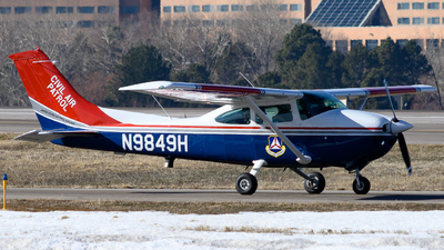 N9849H - Cessna 182R Skylane - United States - US Air Force Civil Air Patrol