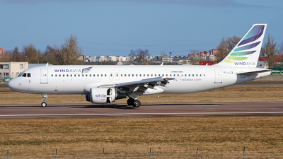 YL-LCL - Airbus A320-214 - Windavia (SmartLynx Airlines)