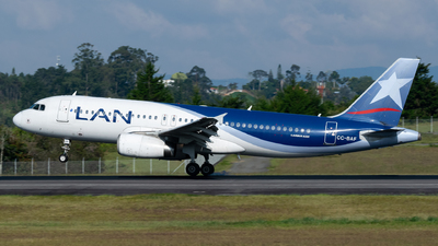 CC-BAF - Airbus A320-232 - LAN Airlines