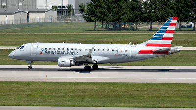 A picture of N107HQ - Embraer E175LR - American Airlines - © Yan777