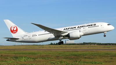 JA836J - Boeing 787-8 Dreamliner - Japan Airlines (JAL)