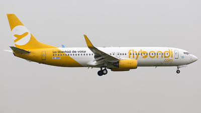 HS-DBD - Boeing 737-8AS - Flybondi