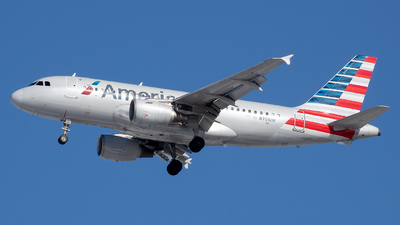 A picture of N701UW - Airbus A319112 - American Airlines - © Stephen J Stein