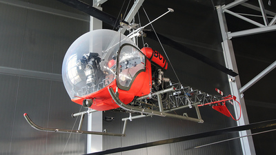 F-MBCV - Bell 47G-1 - Private