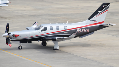 A picture of N98MA - Socata TBM930 - [1254] - © Javier Vera