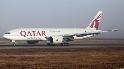 A picture of A7BFM - Boeing 777FDZ - Qatar Airways - © Alexey Ignatyev
