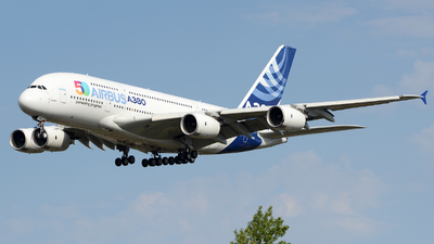 A picture of FWWOW - Airbus A380841 - Airbus - © Romain Salerno / Aeronantes Spotters