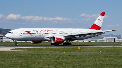 A picture of OELPD - Boeing 7772Z9(ER) - Austrian Airlines - © Daniel Sinn