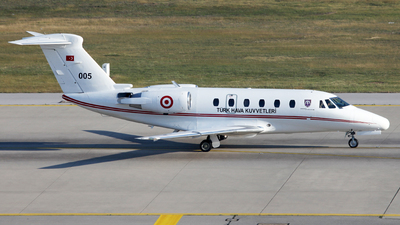 005 - Cessna 650 Citation VII - Turkey - Air Force