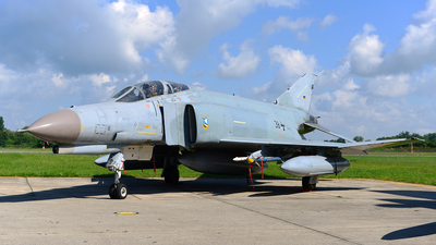 38-14 - McDonnell Douglas F-4F Phantom II - Germany - Air Force