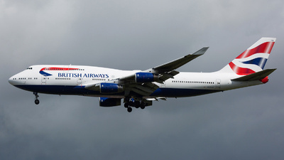 G-BYGE - Boeing 747-436 - British Airways