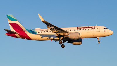 A picture of DAEWF - Airbus A320214 - Eurowings - © Mario Trusch