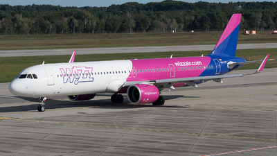 HA-LVH - Airbus A321-271NX - Wizz Air