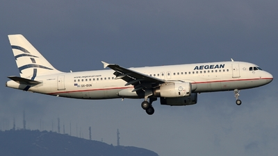 A picture of SXDGN - Airbus A320232 - Aegean Airlines - © Stamatis Alipasalis