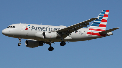 A picture of N778XF - Airbus A319112 - American Airlines - © Joe Osciak