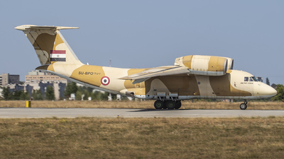 1257 - Antonov An-74T-200A - Egypt - Air Force