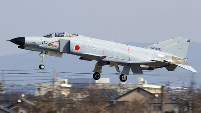 57-8357 - McDonnell Douglas F-4EJ Kai - Japan - Air Self Defence Force (JASDF)