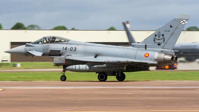 C.16-36 - Eurofighter Typhoon EF2000 - Spain - Air Force