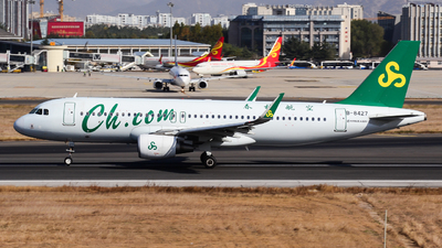 A picture of B8427 - Airbus A320214 - Spring Airlines - © Fei Yu