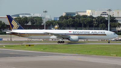 9V-SYJ - Boeing 777-312 - Singapore Airlines