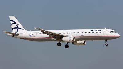SX-DGQ - Airbus A321-232 - Aegean Airlines