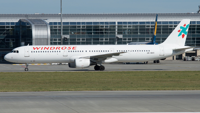 UR-WRT - Airbus A321-212 - Wind Rose Aviation