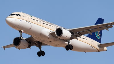 A picture of HZAS44 - Airbus A320214 - Saudia - © AirlinerSpotter