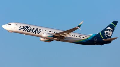 A picture of N280AK - Boeing 737990(ER) - Alaska Airlines - © William Vignes