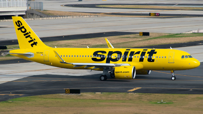 A picture of N931NK - Airbus A320271N - Spirit Airlines - © Carlos Nieves
