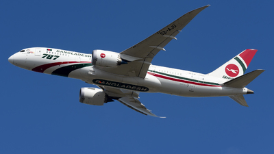 A picture of S2AJU - Boeing 7878 Dreamliner - Biman Bangladesh Airlines - © Yang Qize