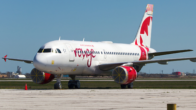C-FYJE - Airbus A319-114 - Air Canada Rouge