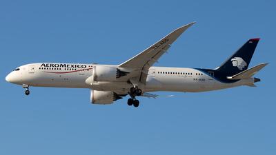 XA-ADD - Boeing 787-9 Dreamliner - Aeromexico