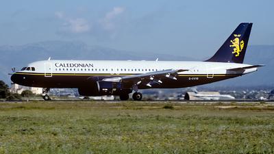 G-CVYD - Airbus A320-231 - Caledonian Airways