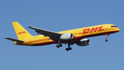 A picture of GBMRA - Boeing 757236(SF) - DHL - © Jan Seler