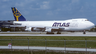 N809MC - Boeing 747-228F(SCD) - Atlas Air