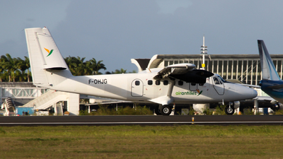 A picture of FOHJG - De Havilland Canada DHC6300 Twin Otter - Air Antilles - © william97