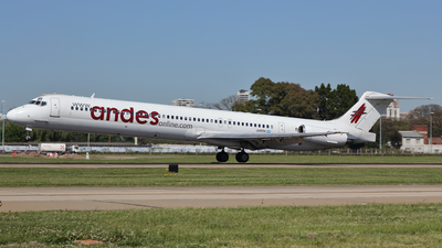 LV-BTH - McDonnell Douglas MD-83 - Andes Líneas Aéreas