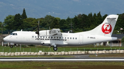 F-WNUG - ATR 72-212A(600) - Japan Air Commuter (JAC)