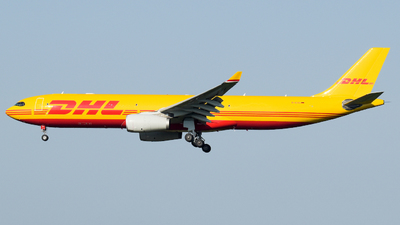 D-ACVG - Airbus A330-343P2F - DHL (European Air Transport)