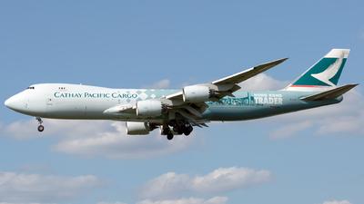 B-LJA - Boeing 747-867F - Cathay Pacific Cargo