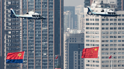 31007 - Airbus Helicopters H155 B1 Dauphin - China - Shanghai Municipal Public Security Bureau Police Aviation Force