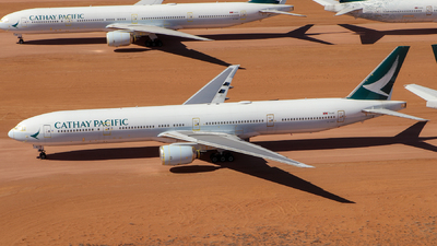 A picture of BHNG - Boeing 777367 - Cathay Pacific - © CATHAY246