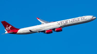 G-VRED - Airbus A340-642 - Virgin Atlantic Airways