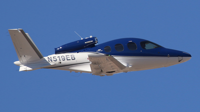 N519EB - Cirrus Vision SF50 G2 - Private