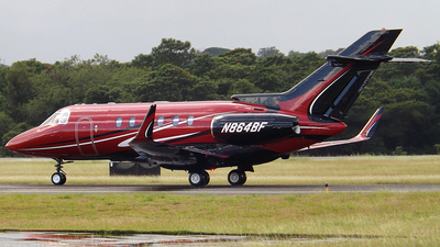 N864BF - Raytheon Hawker 800XP - J&J Aviation